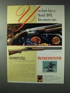 1993 Winchester 1001 Sporting Clays & Field Shotgun Ad