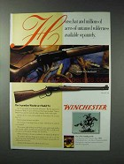 1993 Winchester Model 94 Checkered & Model 94 Rifle Ad
