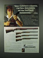1993 Browning Shotgun Ad - 325 Sporting Clays, Citori
