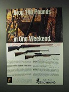 1993 Browning Rifle Ad - A-Bolt Composite Stalker
