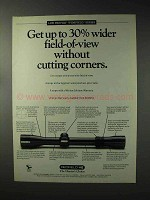 1993 Redfield Scopes Ad - Without Cutting Corners