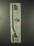 1993 Lyman Great Plains Rifle Ad - To Be An Original