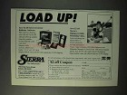 1993 Sierra Bullets Ad - Load Up!