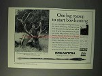 1993 Easton Arrow Shafts Ad - Start Bowhunting