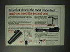 1993 Thompson / Center Arms Ad - Your First Shot
