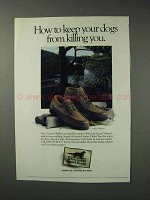 1993 Irish Setter Country Walkers Boot Ad - 883, 881