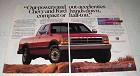 1993 Dodge Dakota LE Club Cab Ad - Out-Powers