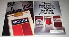 1993 Viceroy Cigarettes Ad - Red Packs Are Known For