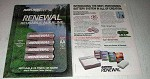 1993 Rayovac Renewal Batteries Ad - Best-Performing