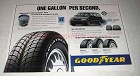 1993 Goodyear Aquatred Tires Ad - One Gallon Per Second