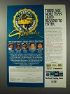 1992 Du Pont Fishing Lines Ad - 18,000 Reasons to Enter