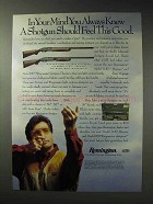 1992 Remington 11-87 & 870 Wingmaster Shotgun Ad