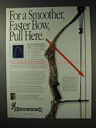 1992 Browning Midas Bow Ad - Mossy Oak Camo