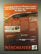 1992 Winchester Shotgun Ad - 1300 Whitetails Unlimited