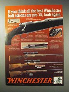 1992 Winchester Model 70 Rifle Ad - Stainless, DBM