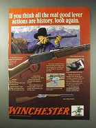 1992 Winchester Model 94 Rifle Ad - Walnut Checkered