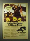 1992 Smith & Wesson Model 411 and Model 915 Pistols Ad