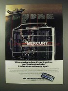 1992 Mercury Outboard Motors Ad - How It's Put Together