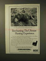 1992 Easton Arrow Shafts Ad - Bowhunting The Ultimate