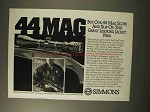 1992 Simmons 44 Mag Scope Ad - Slip on This