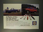 1992 NAPA Parts Ad - At Work, In Tow, On Street