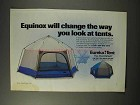 1992 Eureka! Equinox Tent Ad - Change The Way You Look