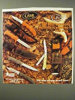 1992 Case Knives Ad - Best Dressed Hunter is Wearing