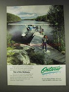 1991 Ontario Canada Ad - Out of the Ordinary