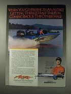 1991 Astro Boats Ad - When You Go Fishing In