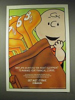 1991 MetLife Insurance Ad - Charlie Brown - Manage