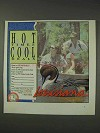 1991 Louisiana Tourism Ad - Hot Times Cool Deals