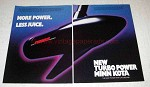 1991 Minn Kota Turbo Power Outboard Motor Ad - Power