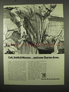 1975 Charter Arms Ad - Colt, Smith & Wesson... And Now