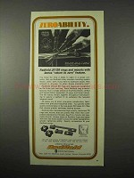 1975 Redfield Scopes Ad - Zeroability