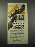 1975 Redfield RM 6400 Target Scope Ad - Versatile