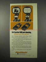 1975 Redfield Mounts Ad - For 5 Yard or 500 Yard