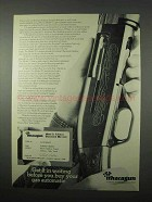 1975 Ithaca Gun Model 51 Shotgun Ad - In Writing