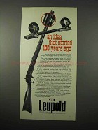 1975 Leupold STD Standard Mount Ad - 100 Years Ago