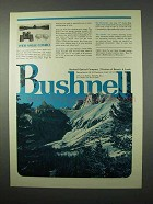 1975 Bushnell Optics Ad - Wide Angle Combo