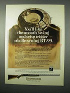 1975 Browning BT-99 Rifle Ad - Smooth Swing