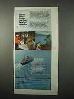 1975 Canadian National S.S. Prince George Cruise Ad