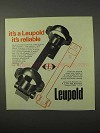 1975 Leupold STD Standard Mount Ad - It's Reliable