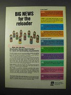 1974 Winchester Western Ball Powder Ad - Big News
