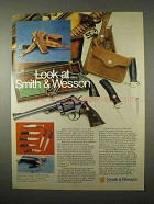 1974 Smith & Wesson Handguns and Knives Ad