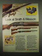 1974 Smith & Wesson Model 1000 and 916 Shotguns Ad
