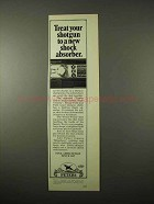 1974 Peters High Velocity Shotgun Shells Ad - Shock