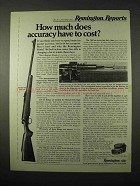 1974 Remington Model 788 Rifle Ad - How Much Accuracy