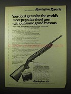 1974 Remington Model 1100 SA Skeet Shotgun Ad