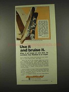 1974 Redfield Scopes Ad - Use It And Bruise It