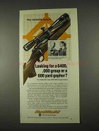 1974 Redfield RM 6400 Target Scope Advertisement - Versatile